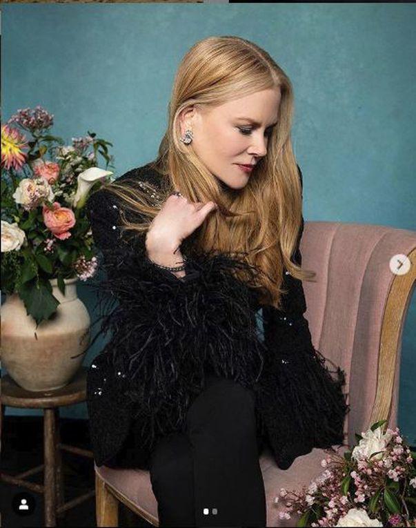 Nicole Kidman adora serpii