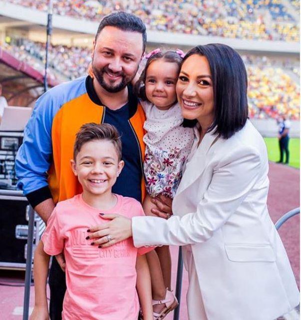 Fericire mare în familia Andrei și a lui Cătălin Măruță. Fiica lor a împlinit 4 ani