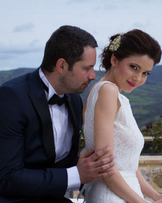 ANCA RUSU şi ŞTEFAN LUNGU: Primele fotografii de la nuntă