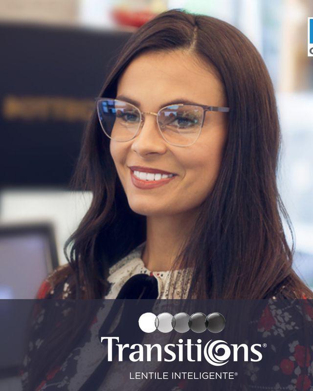 (P) Anca Serea: Am ales protecția și claritatea vederii  oferită de lentilele fotocromatice Transitions®