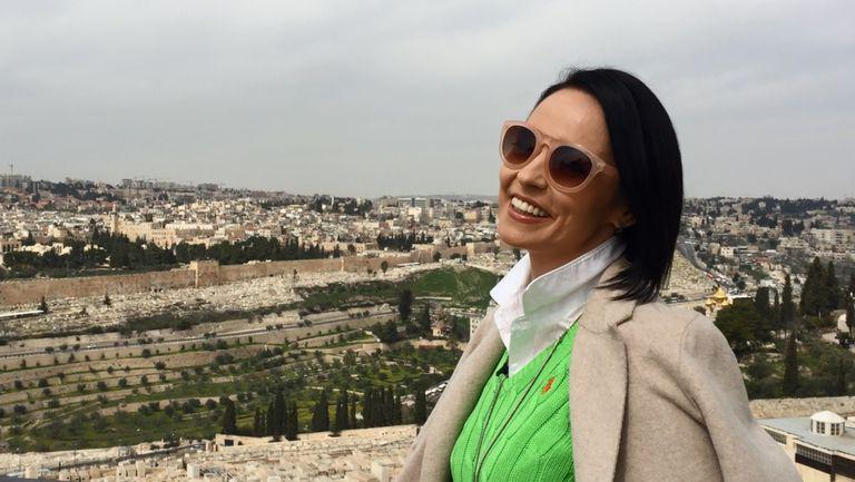ce spune Andreea Marin despre prima ei călătorie la Ierusalim