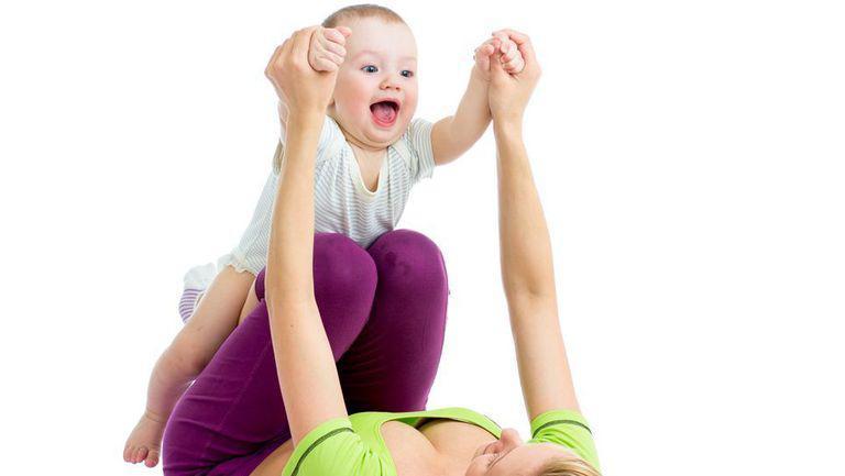 Fitness pentru mami şi bebe