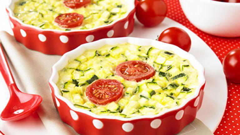 Mini-tarte cu legume (de la 12 luni)