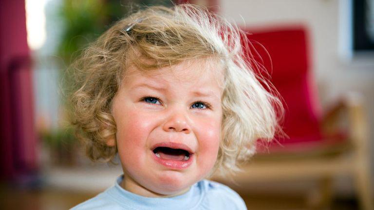 Marile frustrări ale copilului mic