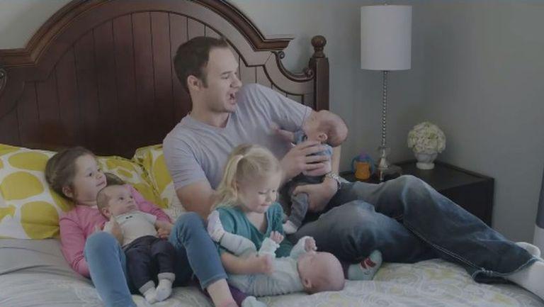 Povestea cutremurătoare a unei mame de tripleți   VIDEO