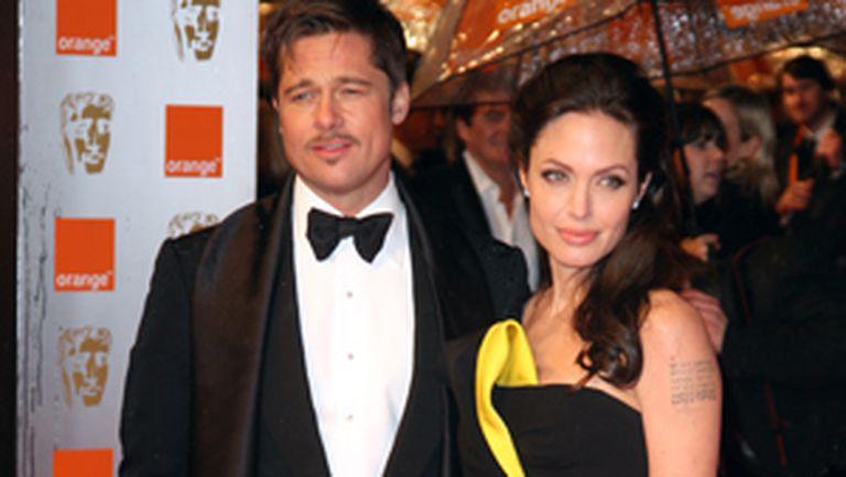 Designerii Angelina Jolie şi Brad Pitt
