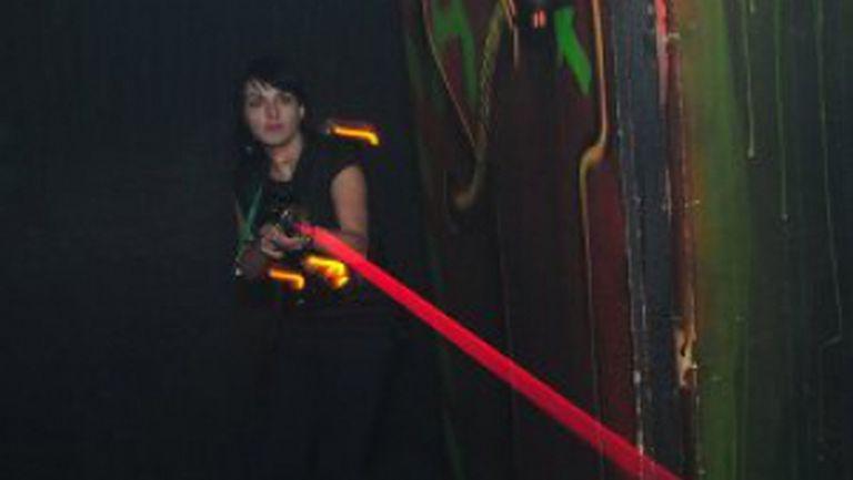 Fă mişcare cu  Laser Tag!