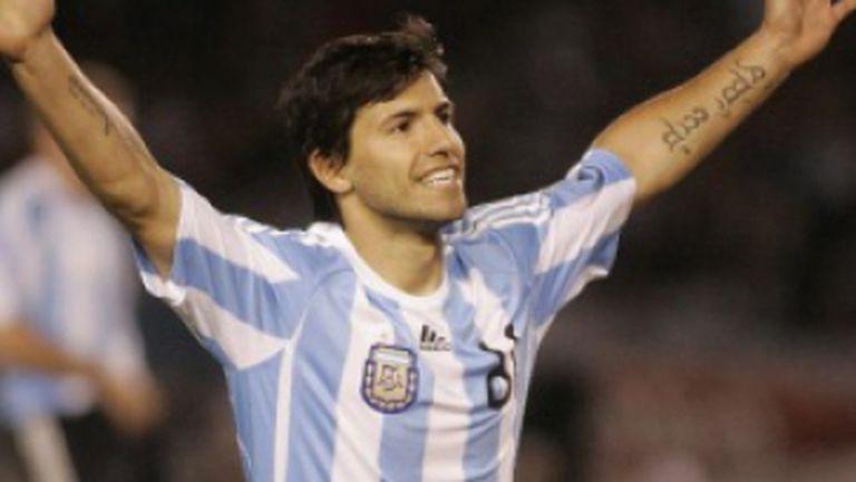 Sergio Aguero, atacant Argentina