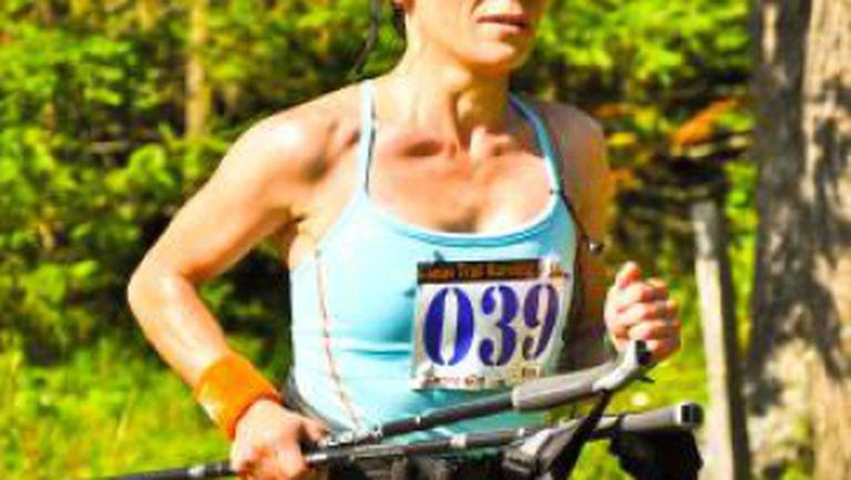 """Maratonista care nu se teme de """"zidul morţii"""""""