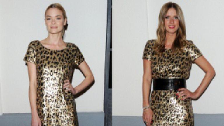 Vedete cu rochii identice. Cui îi stă mai bine?