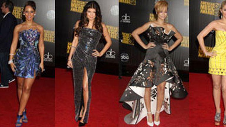 Tinutele vedetelor la American Music Awards 2009
