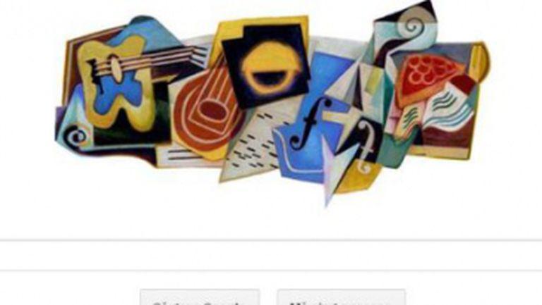 Juan Gris, pictorul cubist omagiat azi de Google