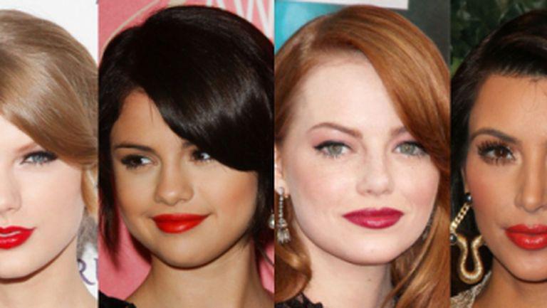 Ce nuanţă de ruj roşu să alegi în funcţie de culoarea părului
