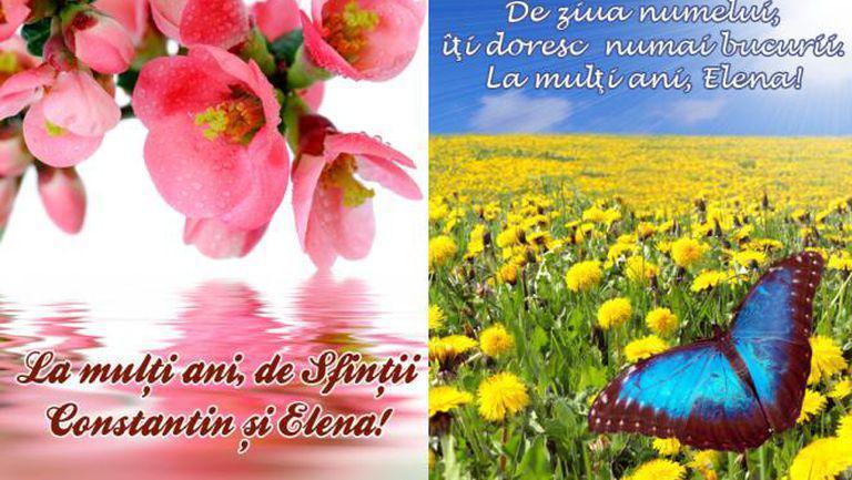 Mesaje şi urări de Sfinții Constantin și Elena. Trimite felicitări sărbătoriţilor