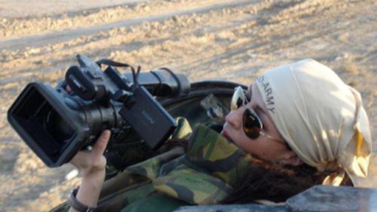 Mihaela Rădulescu, ipostaze inedite: a filmat în Irak. Vezi pozele!