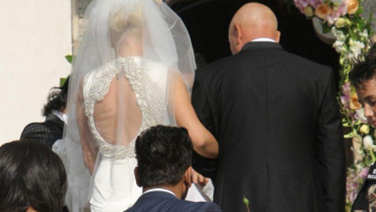 Imagini de la nunta lui Connect-R cu Misha. Uite cât de frumoasă este mireasa