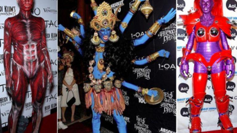 Heidi Klum, maestra costumelor de Halloween. Ce idei originale a avut până acum!