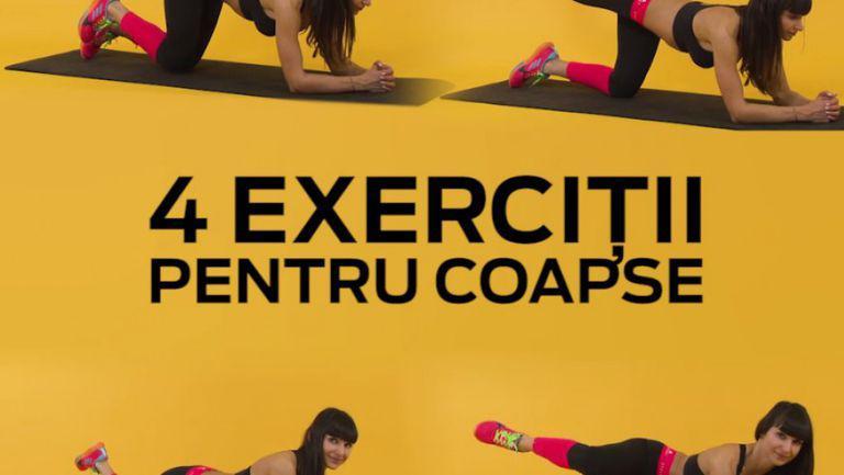 exerciții pentru coapse