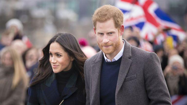 Meghan Markle și Prințul Harry într-o vizită oficială