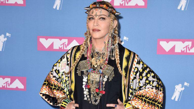 Madonna , pe vocorul roșu la MTV Video Music Awards