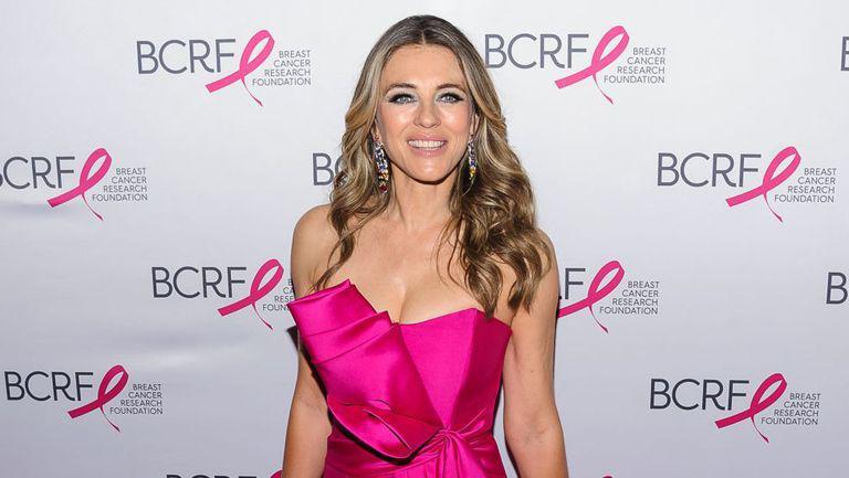 Elizabeth Hurley, la un eveniment pentru lupta impotriva cancerului la san