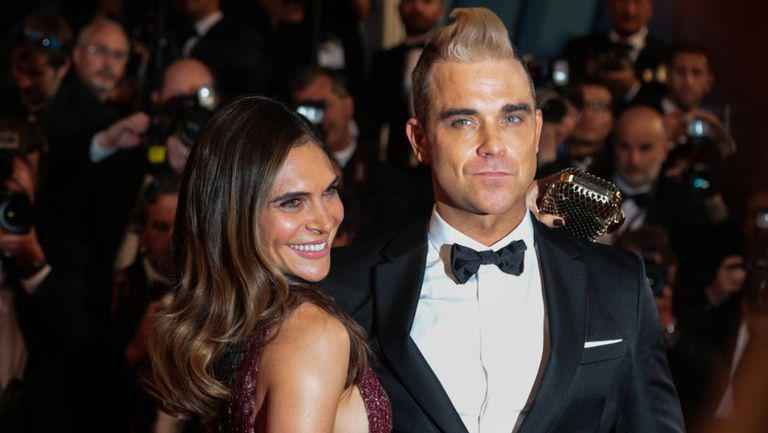 Robbie Williams si Ayda Field, pe covorul rosu al unui eveniment