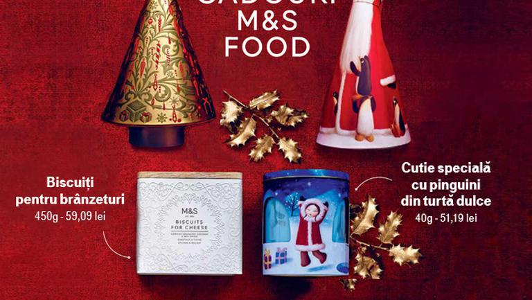 (P) Cadouri irezistibile de la Marks & Spencer Food
