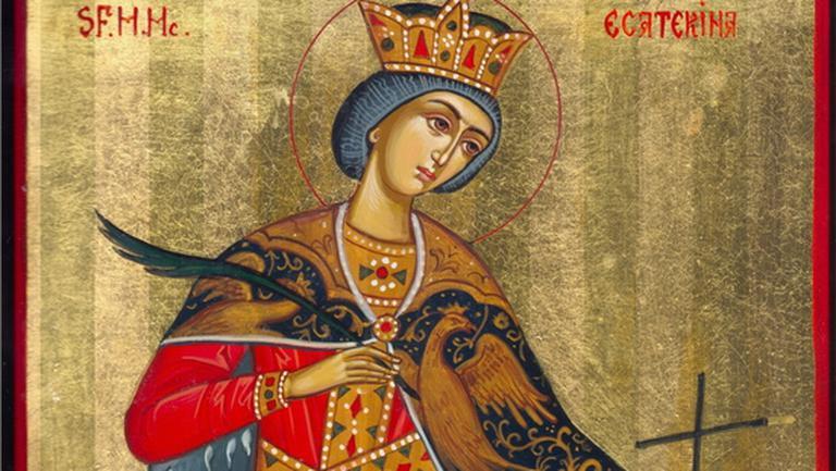 Pe 25 noiembrie e cruce neagră în calendar! Biserica Ortodoxă o pomește pe Sfânta Ecaterina