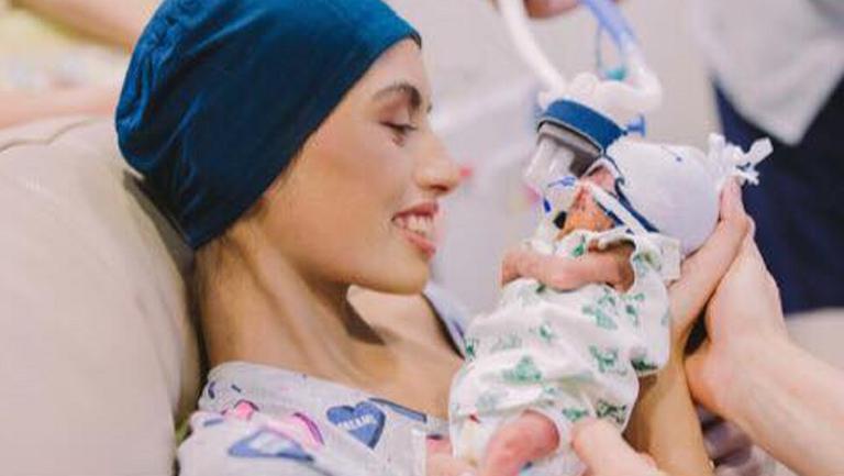 Povestea tragică a unei femei diagnosticate cu cancer în timpul sarcinii