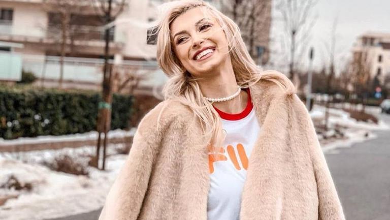 Andreea Bălan a dezvăluit numele celui de-al doilea copil