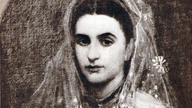 Ana Davila, portret de Sava Henția