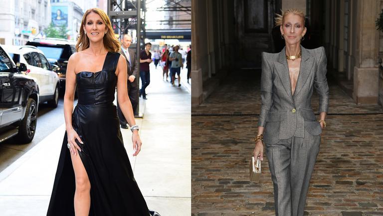 Celine Dion tinute