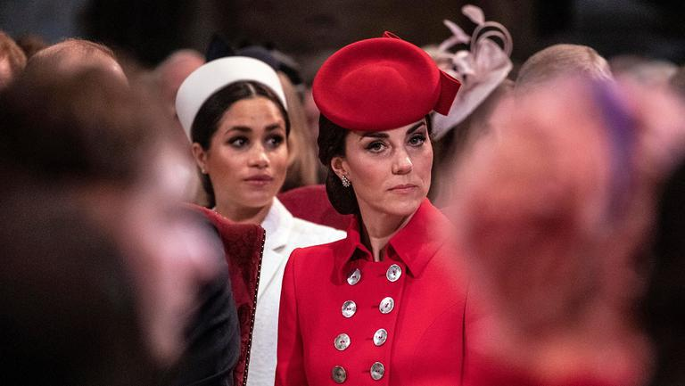 Kate Middleton si Meghan Markle