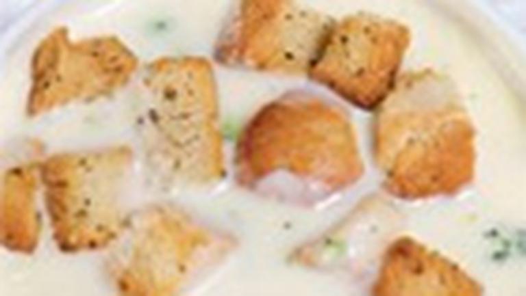 Supa-crema de usturoi