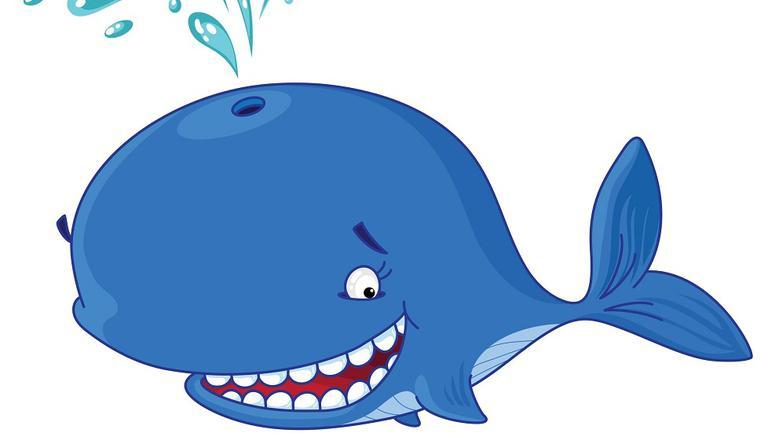 balena albastra
