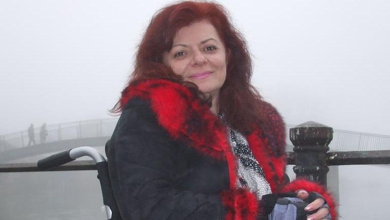 """Mărturisire emoționantă din scaunul rulant a profesoarei Nina Aurora Bălan: """"Pentru mine, dizabilitățile fizice sunt doar chestiuni tehnice"""""""
