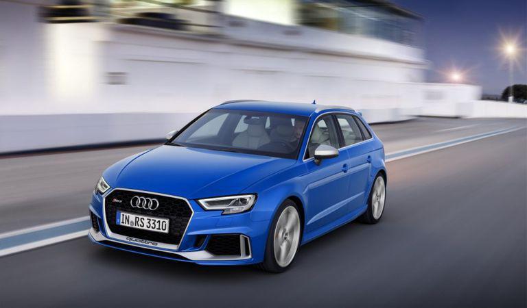 Audi RS3 Sportback: motor nou și un look agresiv