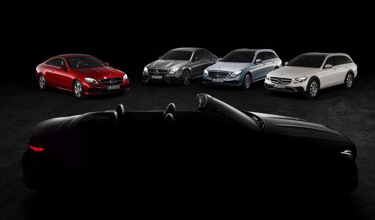 Mercedes-Benz Clasa E Cabrio – Prima imagine teaser