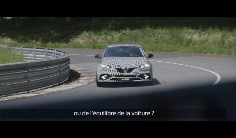 Noul Renault Megane RS – prezentare video pe circuit