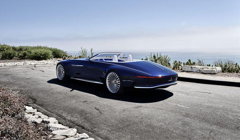 Vision Mercedes-Maybach 6 Cabriolet este absolut uimitor