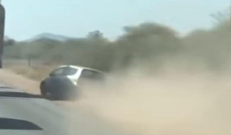 VIDEO: Încă un motiv să nu depășești prin dreapta
