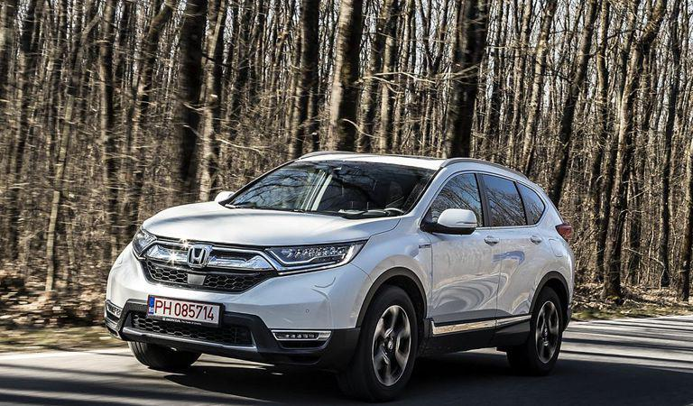 Video: Honda CR-V Hybrid, mașina care te va face să uiți de diesel