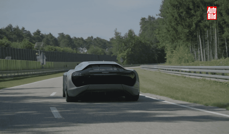 VIDEO: Audi PB18 e-tron – un shooting brake din viitor pe șoselele de azi