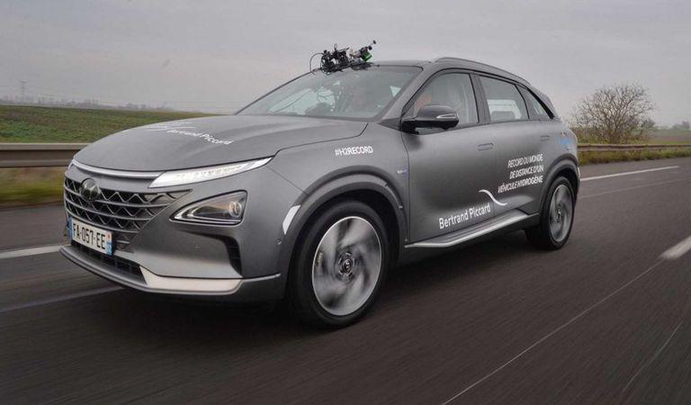 Mai bună decât electricele: nou record de autonomie pentru Hyundai Nexo