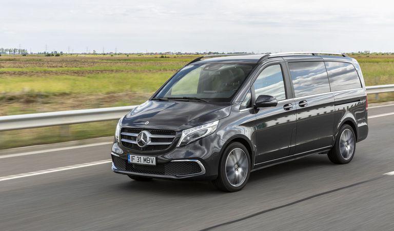 Mercedes-Benz Clasa V: Excursionistul de aeroport