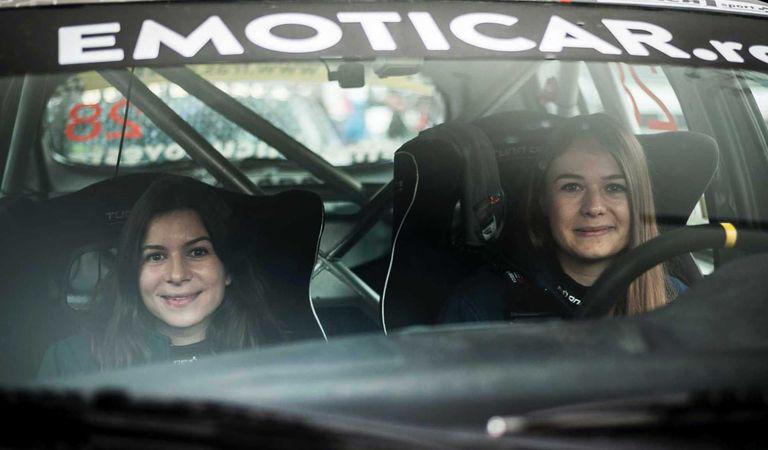 Cristiana Oprea și Diana Hațegan, din nou împreună la start, la Raliul Brașov & Harghita
