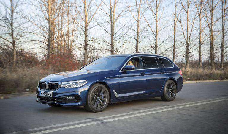 BMW Seria 5 Touring: Familistul perfect