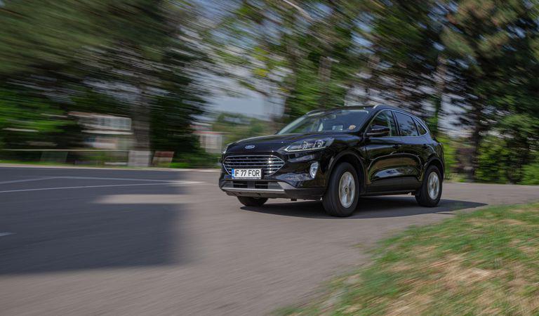 Ford Kuga mHEV 2.0 EcoBlue: Aromă clasică, tehnologie fresh