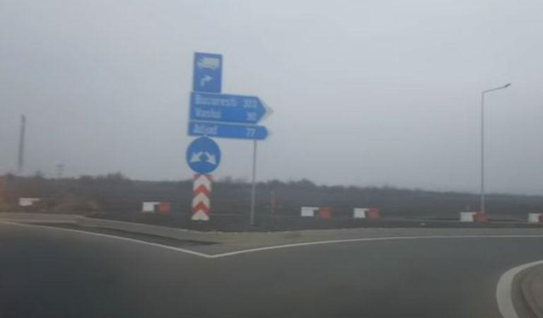 Cum arată cei 16 km din autostrada A7 deschiși pentru trafic (Video)