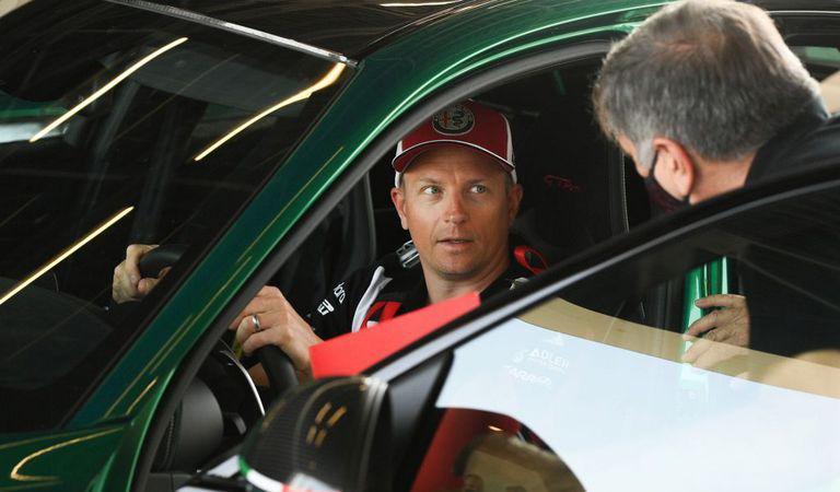 VIDEO: Kimi Räikkönen testează Alfa Romeo Giulia GTAm